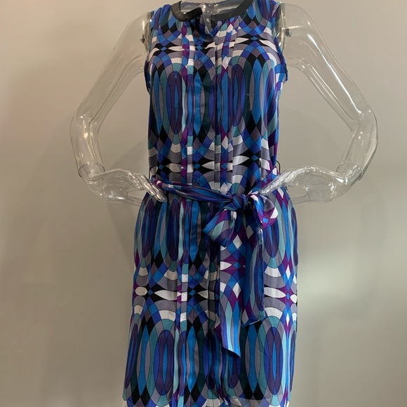 Banana republic Colourful Pattern Dress